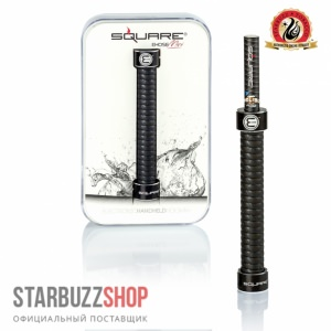 Starbuzz E-Hose Mini Black (Square)