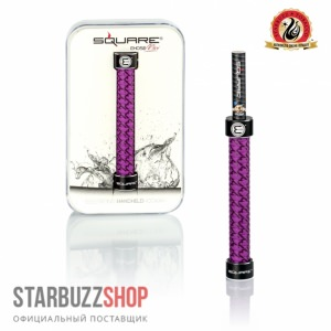 Starbuzz E-Hose Mini Purple (Square)
