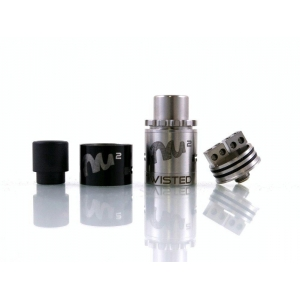 Дрипка Twisted Messes square RDA (Черный)